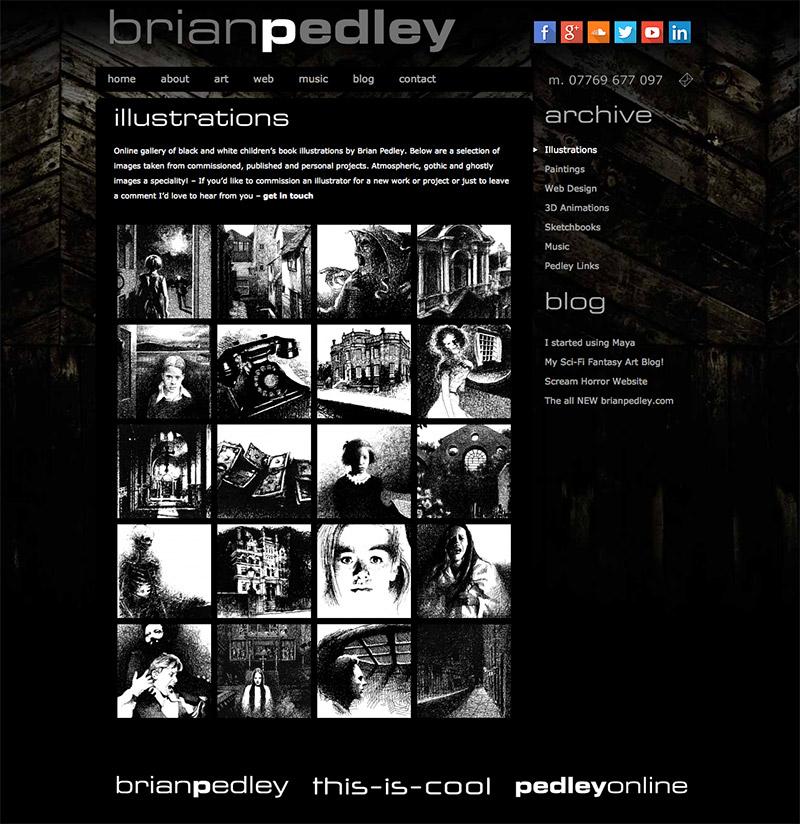 Brian Pedley Website