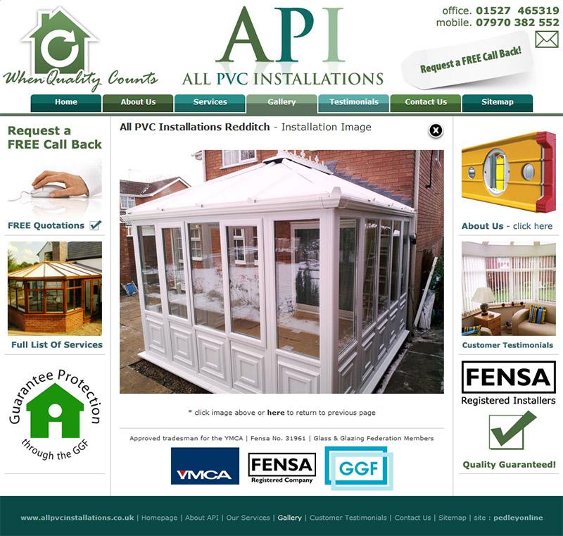 All PVC Installations Website