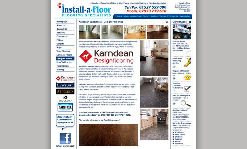 Install a Floor Bromsgrove Website