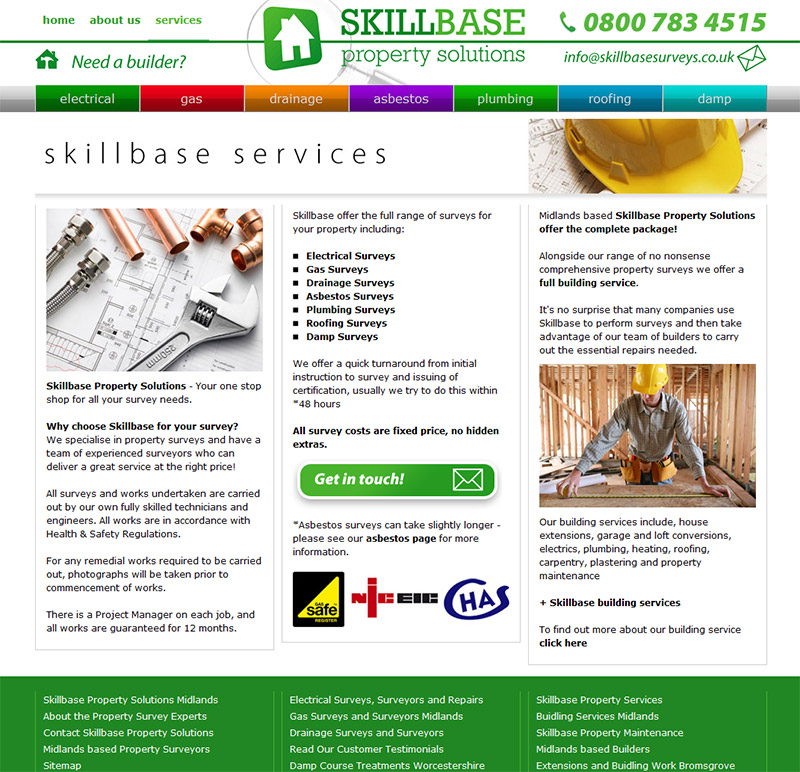 Skillbase Website
