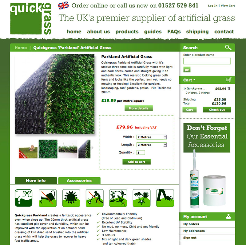 Quickgrass Website