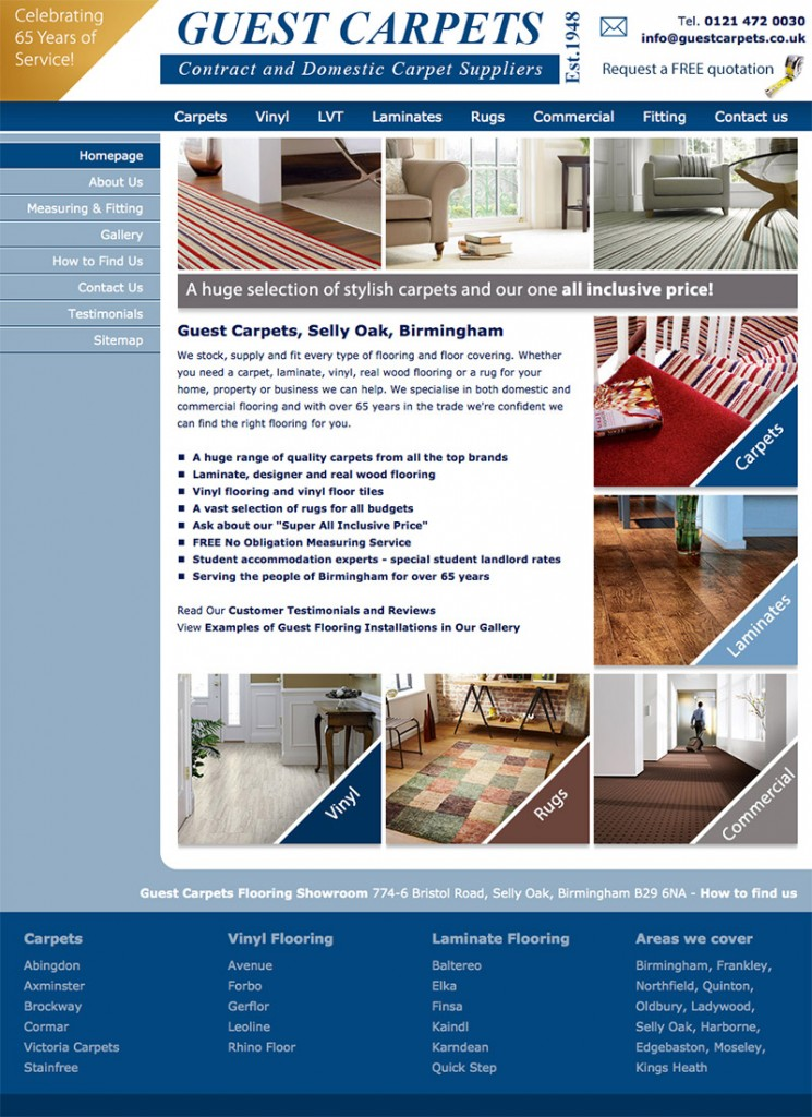 Guest Carpets Website