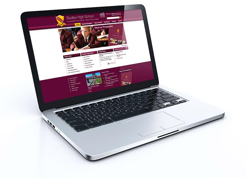 Studley High School Website 2015