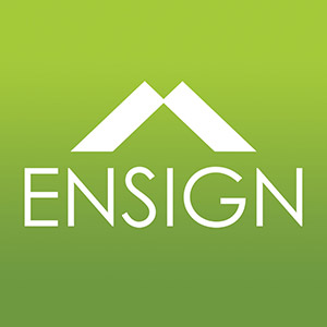 Ensign Roof Logo Design