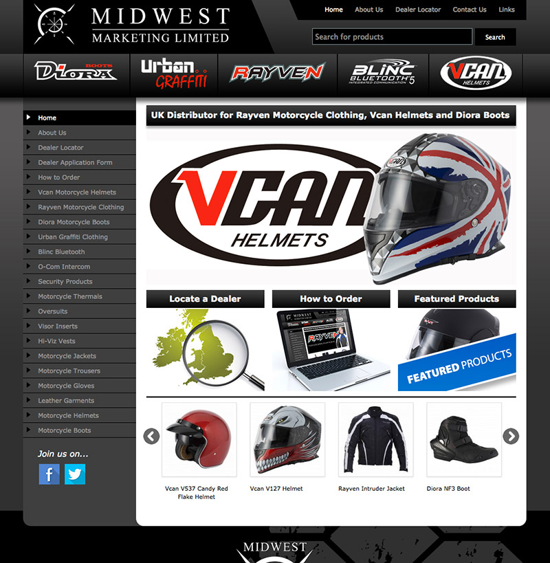 Midwest Marketing Limited Website