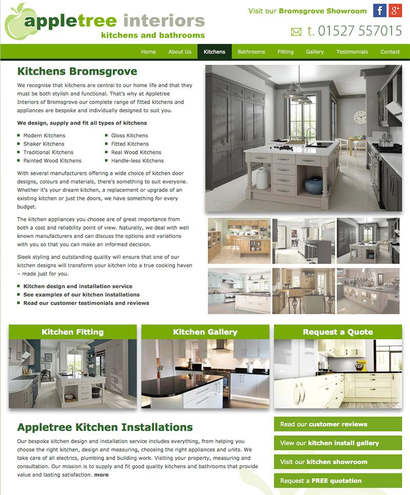 Appletree Interiors New Website