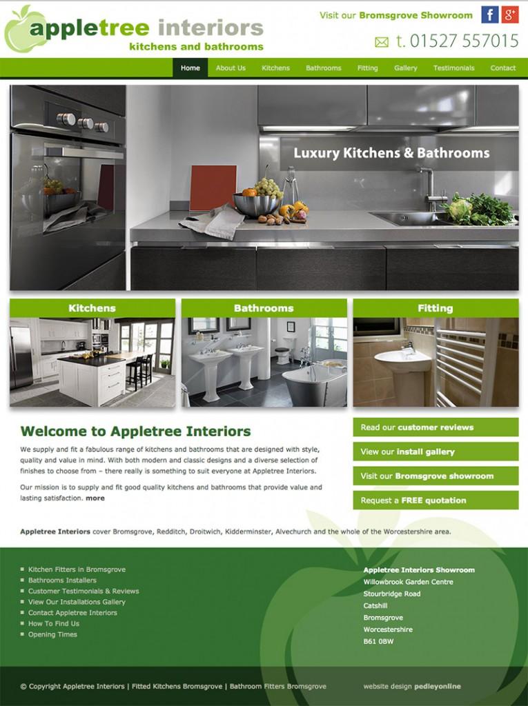 Appletree Interiors Website
