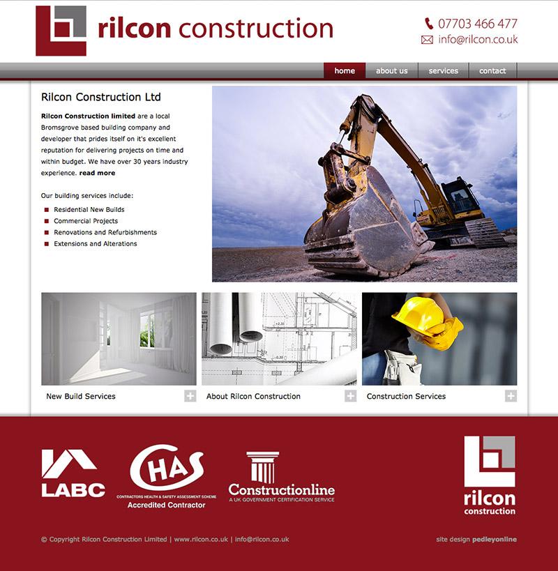 Rilcon Website