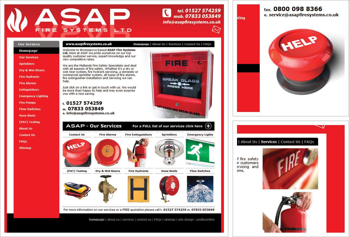 ASAP Fire Systems Website