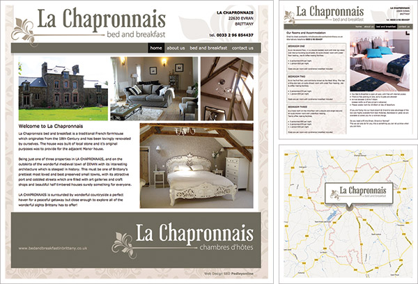 Bed and Breakfast in Brittany Website