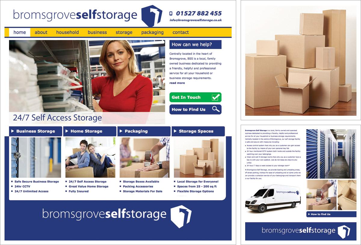 Bromsgrove Self Storage Website