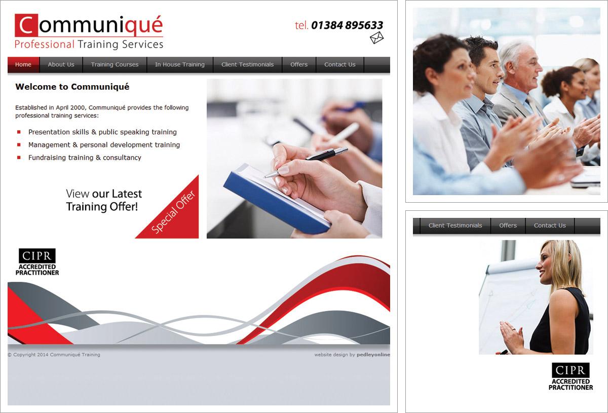 Communique Training Website