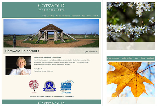 Cotswold Celebrants Website