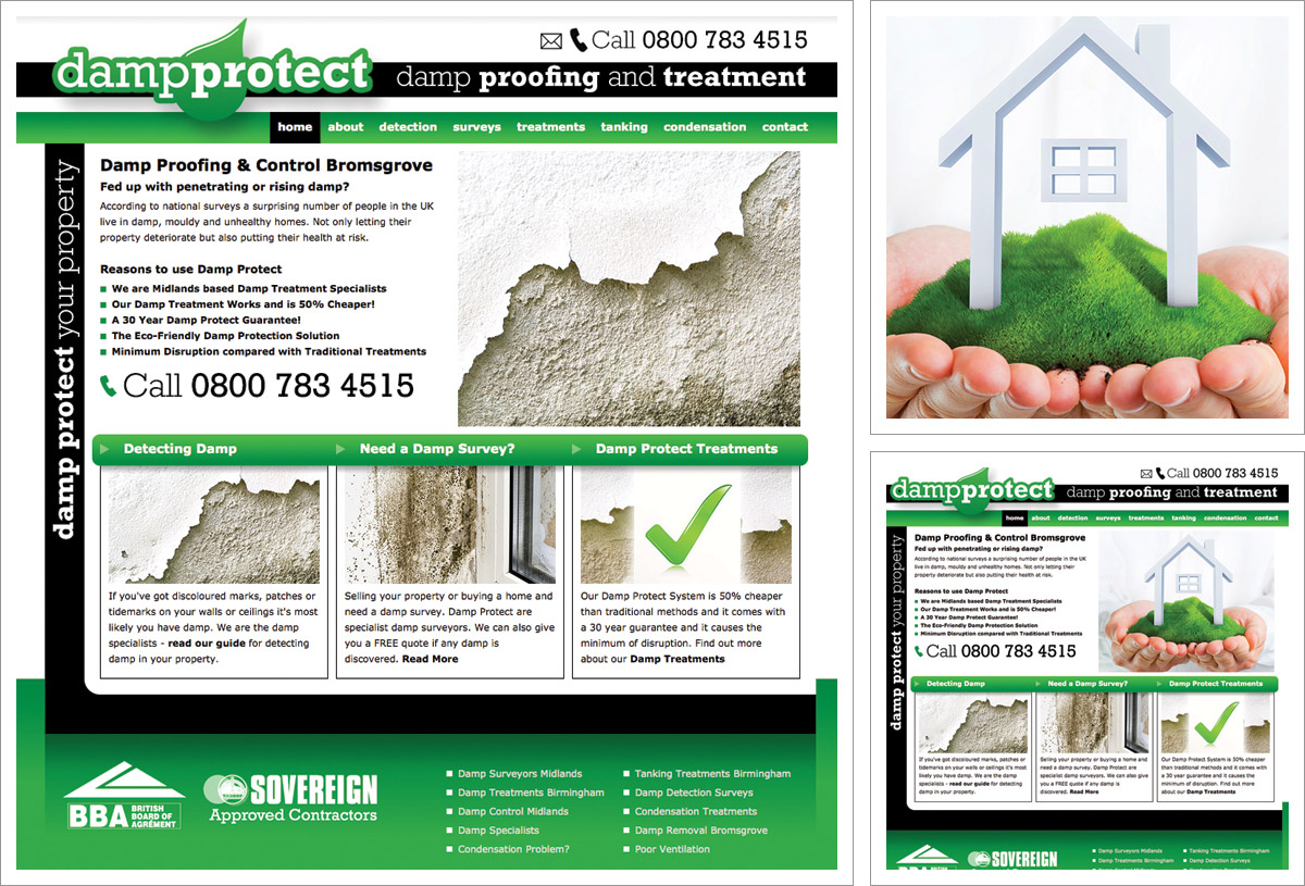 Damp Protect Website