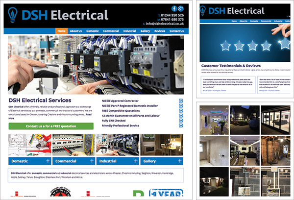 DSH Electrical Website