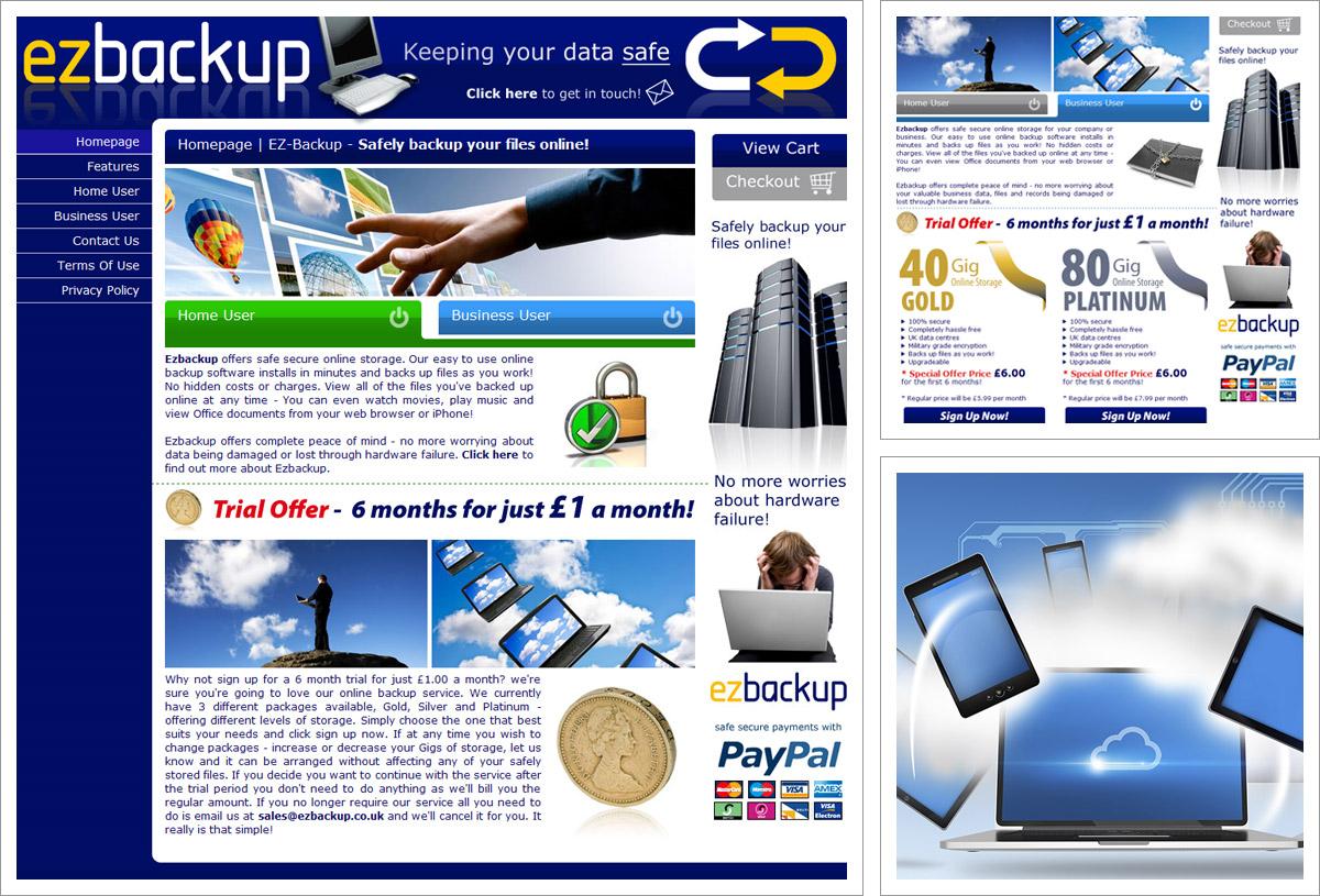EZ Backup Website