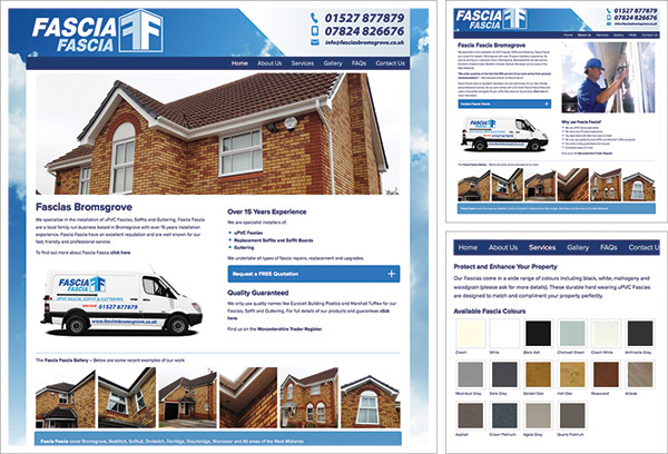 Fascias Bromsgrove Website