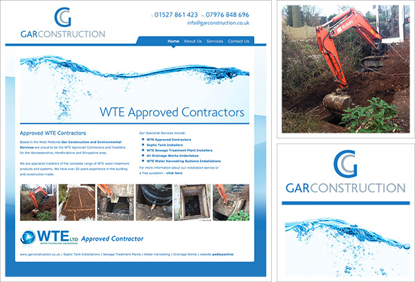 GAR Construction Website