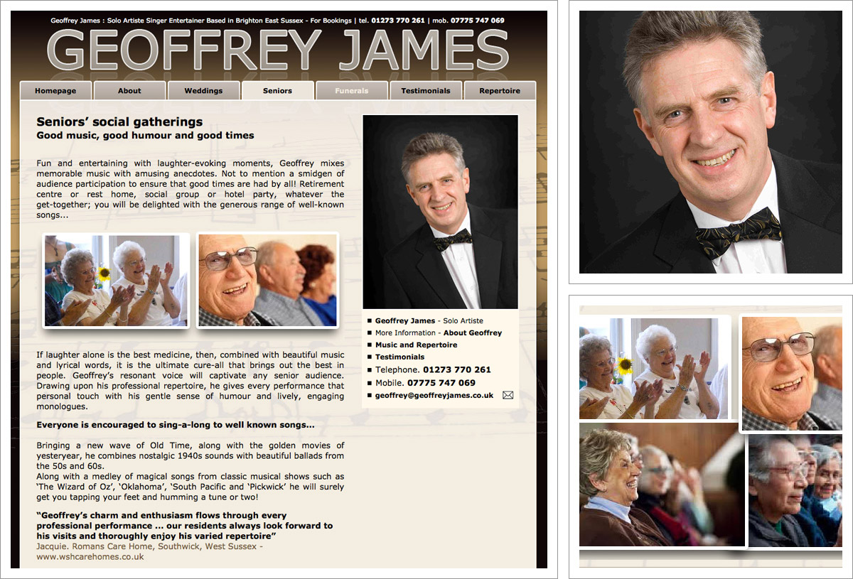 Geoffrey James Website