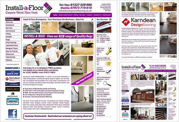 Install a Floor Website