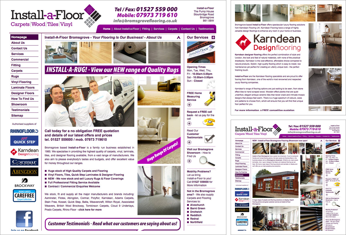 Install-a-Floor Website