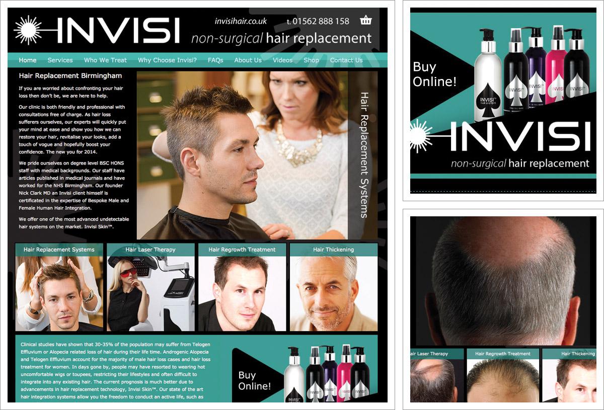 Invisi Hair Website