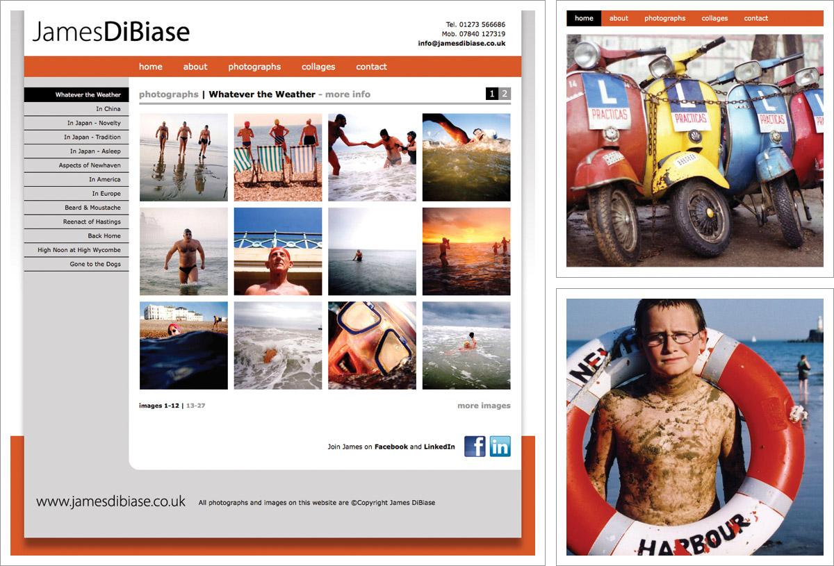 James Dibiase Website