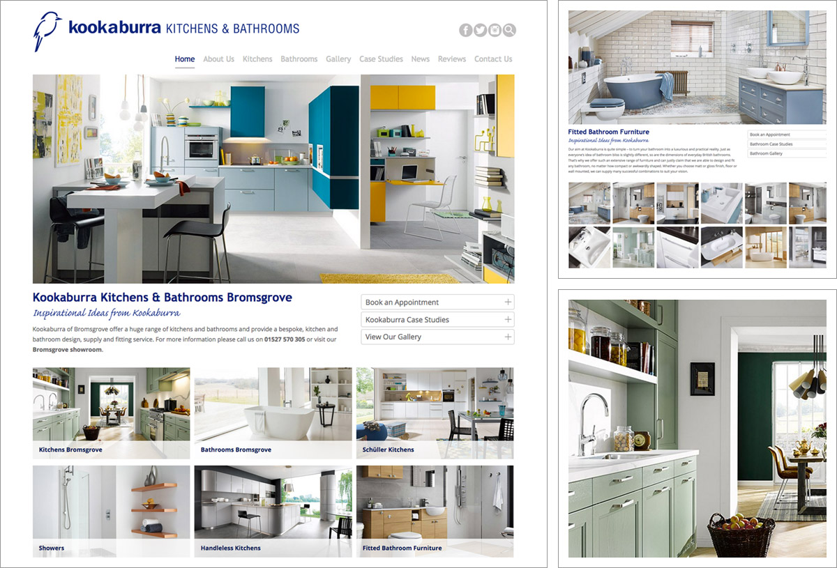 Kookaburra Kitchens responsive new website!