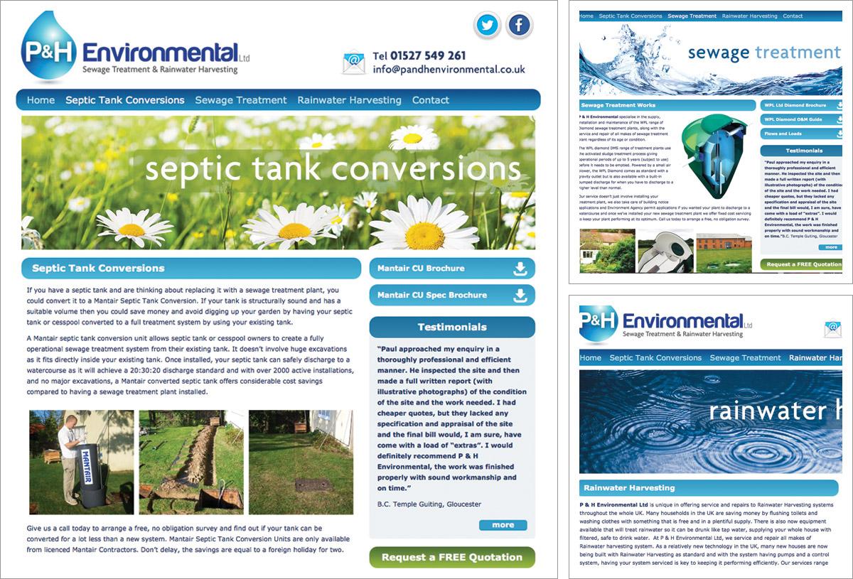 P&H Environmental Website