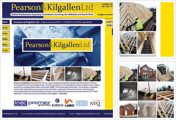 Pearson and Kilgallen Website