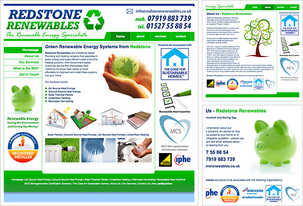Redstone Renewables Website