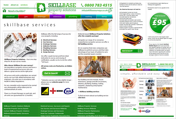 Skillbase Services Website