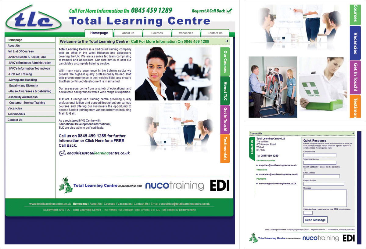 Total Learning Centre Website