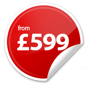 Websites from £599*