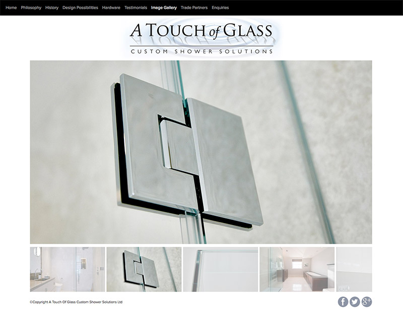 A Touch of Glass Online Gallery