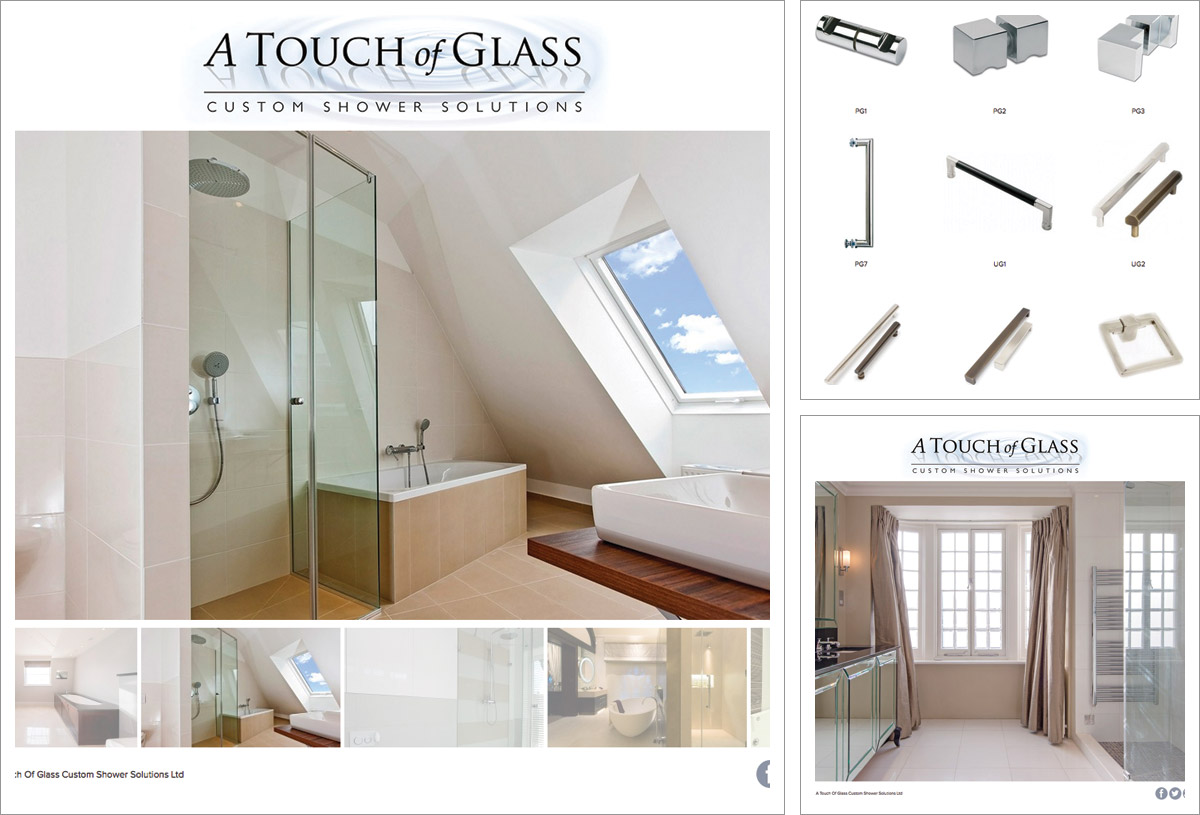 A Touch of Glass Website