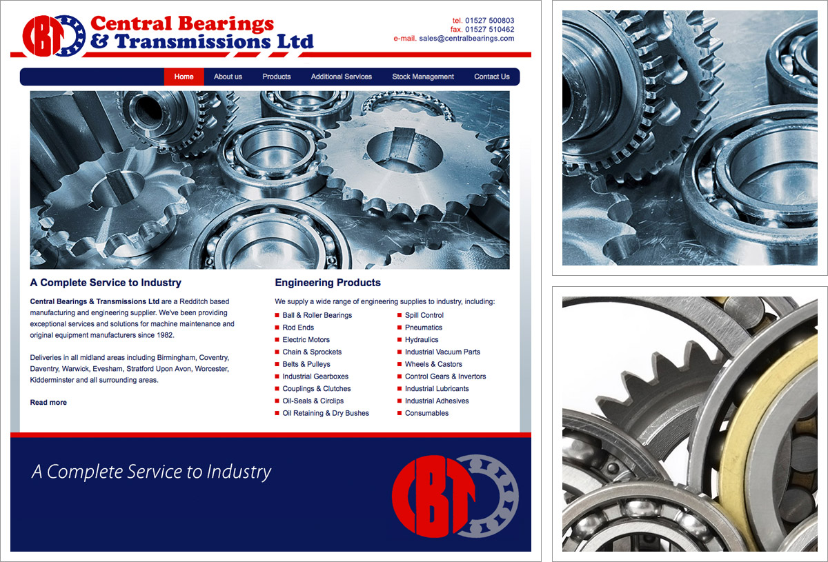 Central Bearings Website