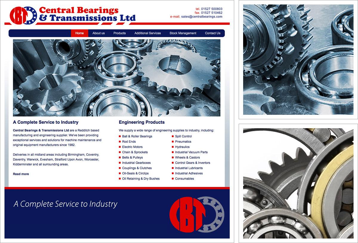 Central Bearings Website