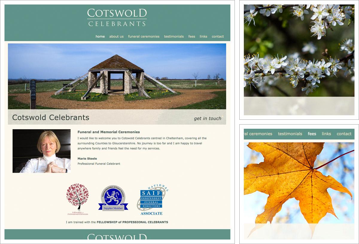 Cotswold Celebrants Website