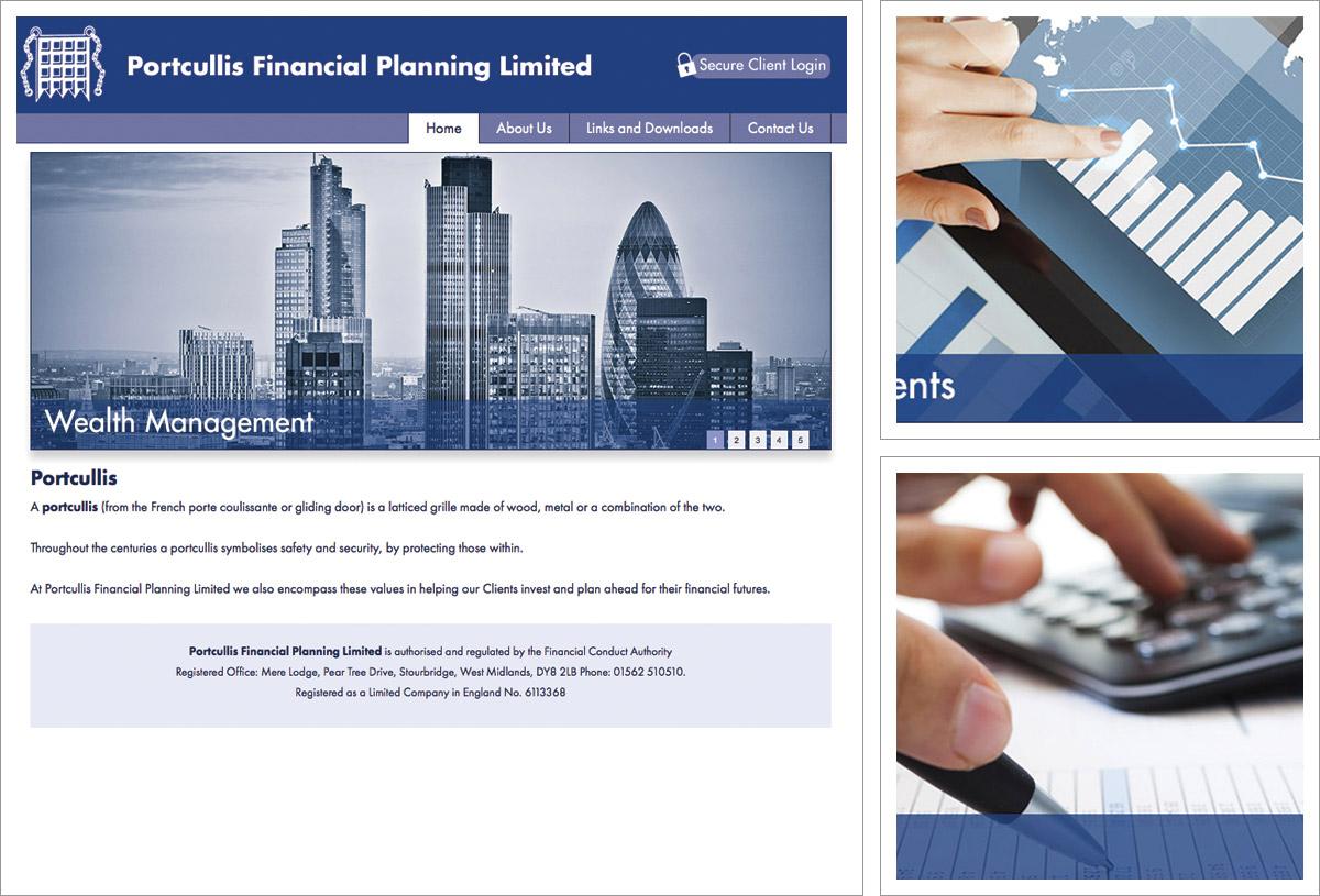 Portcullis Financial Planning Website