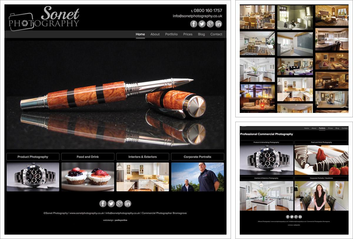Sonet Photography Website