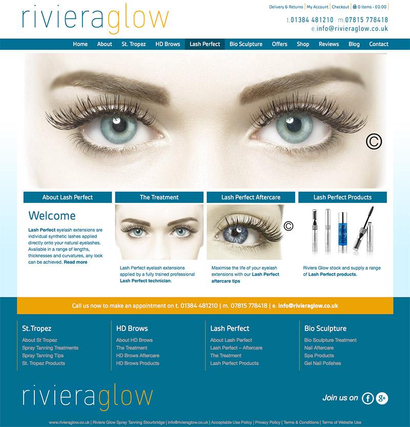 Riviera Glow Online Shop