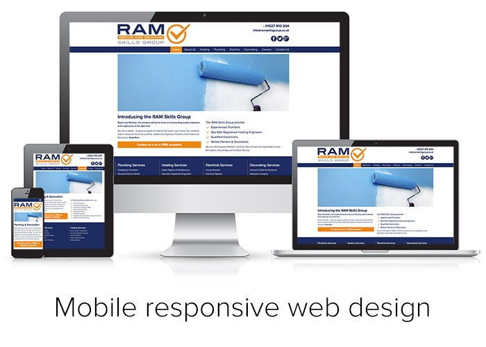 Responsive Mobile Friendly Websites