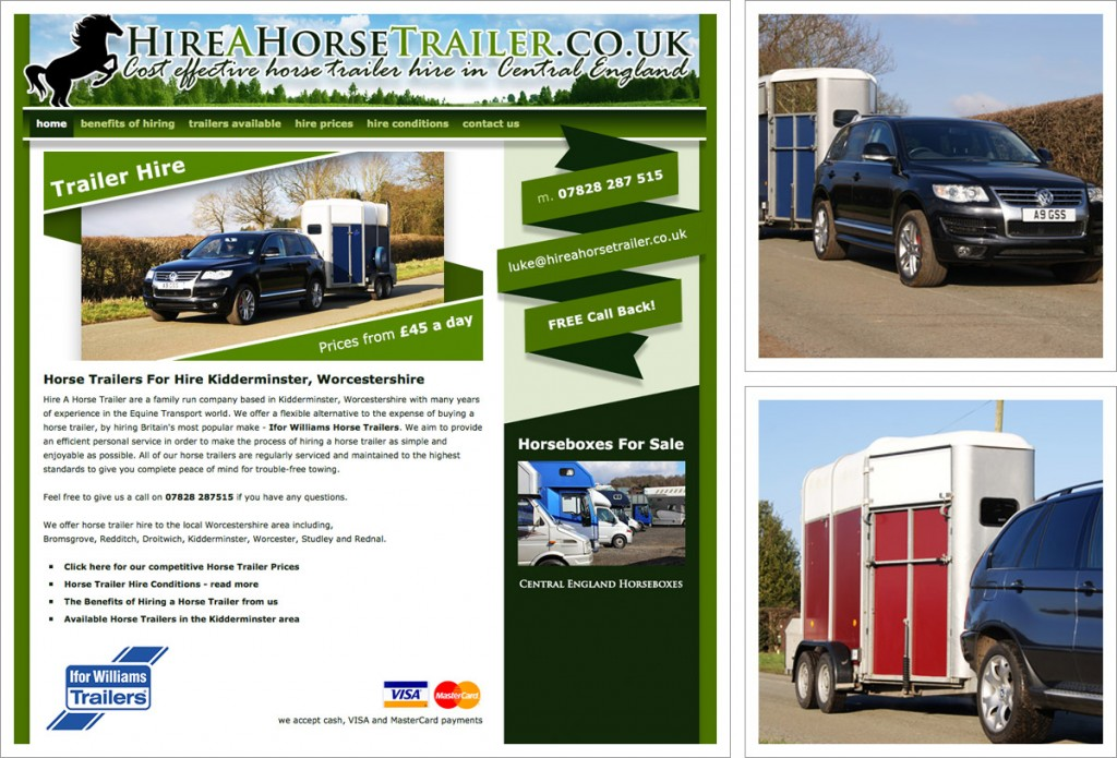 hire-a-horse-trailer-website