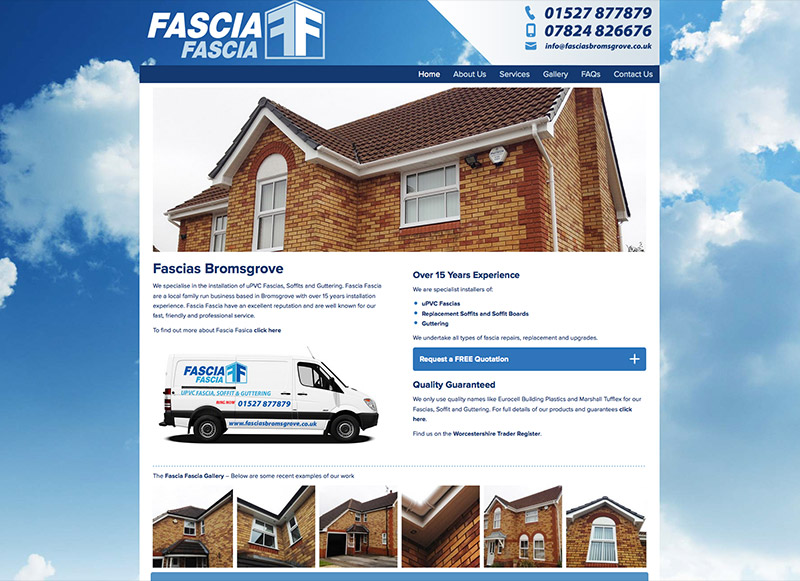 Fascia Fascia Bromsgrove New Website