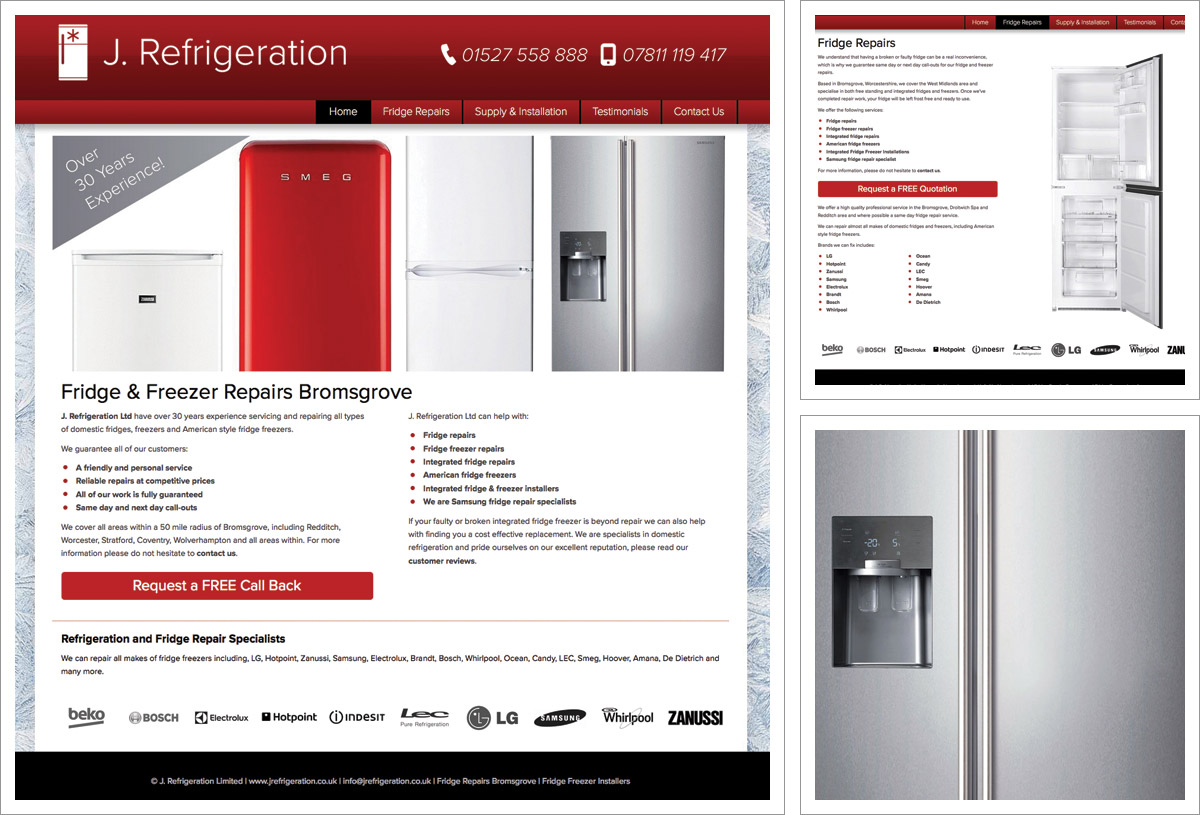 jrefrigeration-website