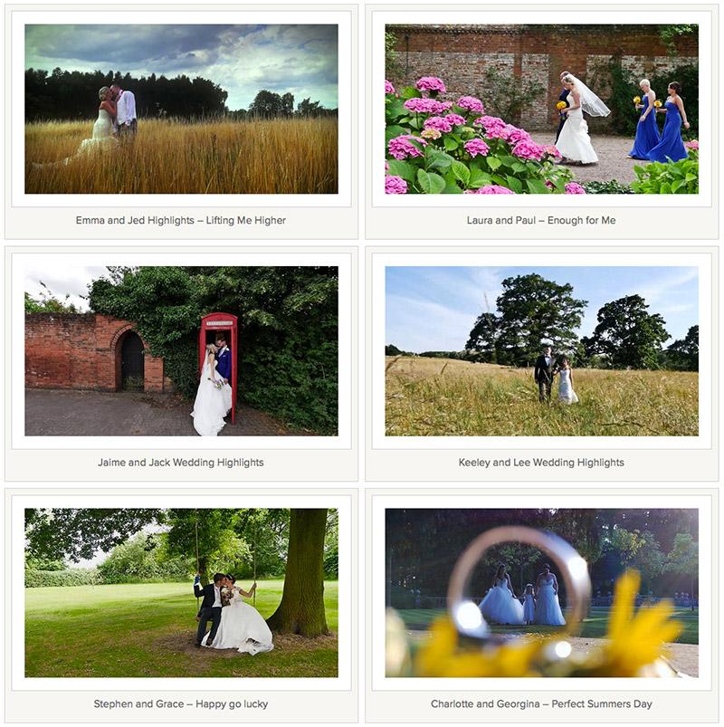 Wedding Video Website