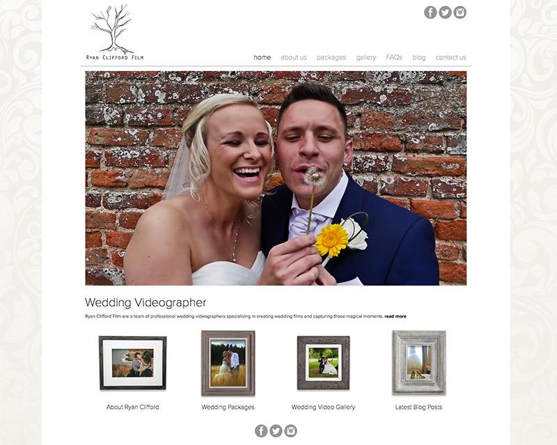 Ryan Clifford Flim in our web design portfolio