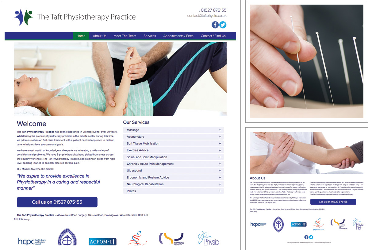 taft-physio-website