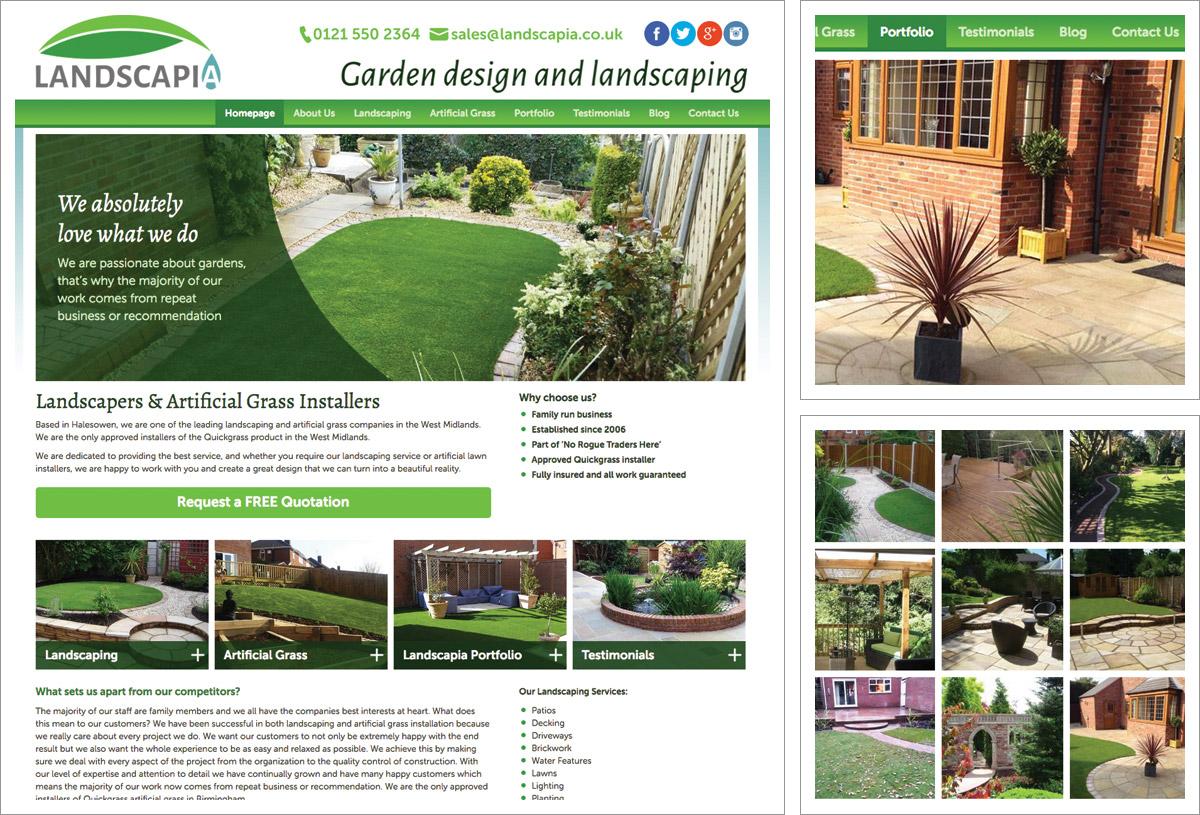 landscapia-website